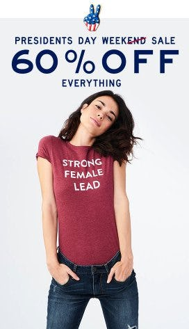 60% Off Everything from Aéropostale