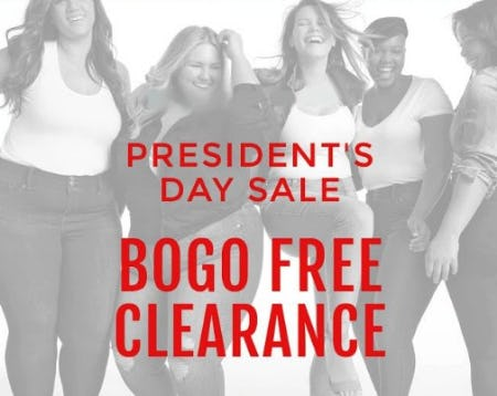 President's Day Sale from Torrid