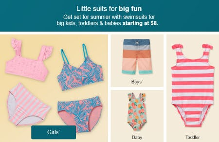 Little Suits Starting at $8