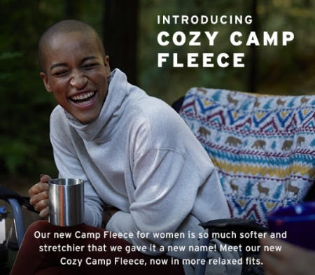Introducing Cozy Camp Fleece from Eddie Bauer