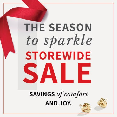 Season to Sparkle Sale from Rogers & Hollands Jewelers