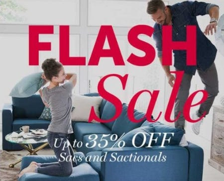 Up to 35% Off Sacs and Sactionals