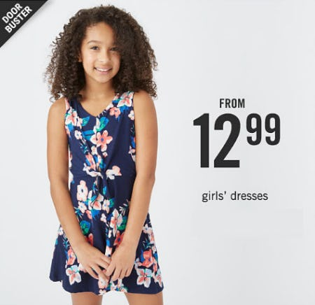 Girls' Dresses From $12.99 from Belk