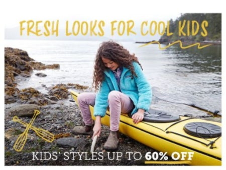 Up to 60% Off Kids' Styles from Eddie Bauer