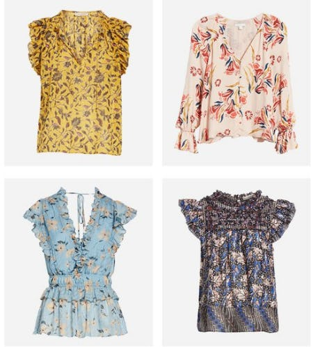 The Tops to Wear Now from Nordstrom