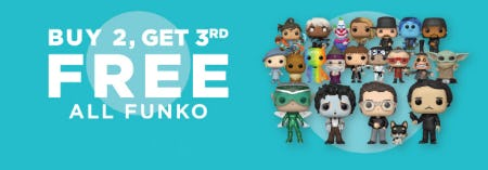 B2G3 Free All Funko from Books-A-Million