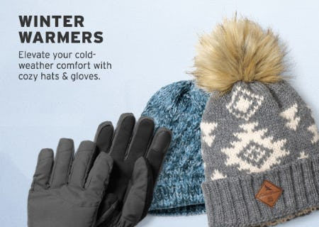Our Winter Warmers from Eddie Bauer