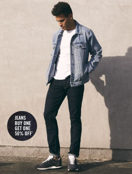 BOGO 50% Off Jeans from Abercrombie & Fitch