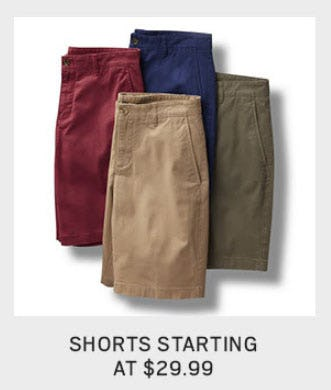 Shorts Starting at $29.99 from Men's Wearhouse