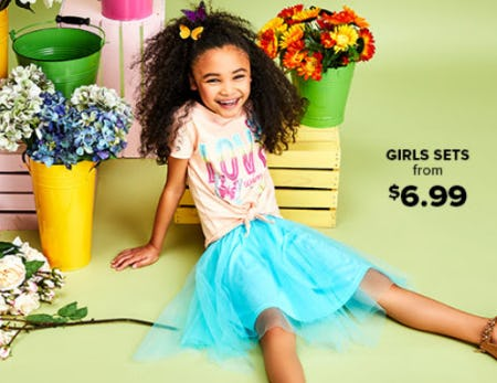 Girls Sets From $6.99