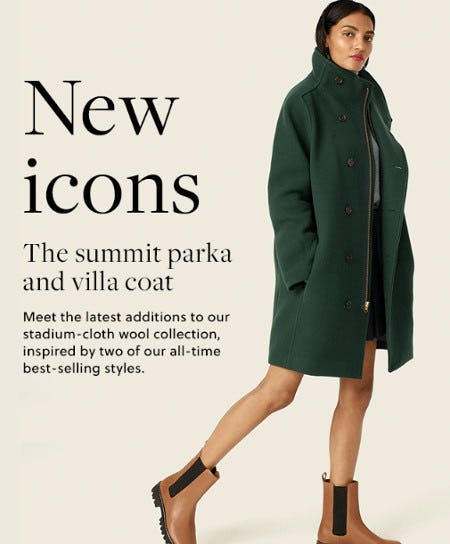 Meet the New Icons from J.Crew