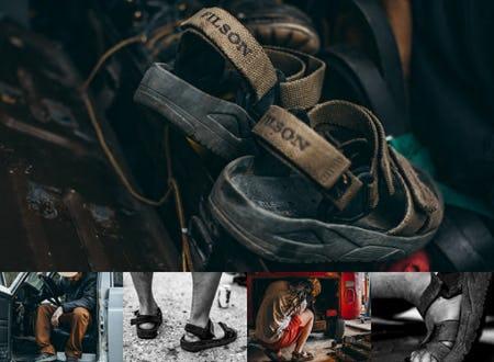 The Filson X Merrell Convert Sandal