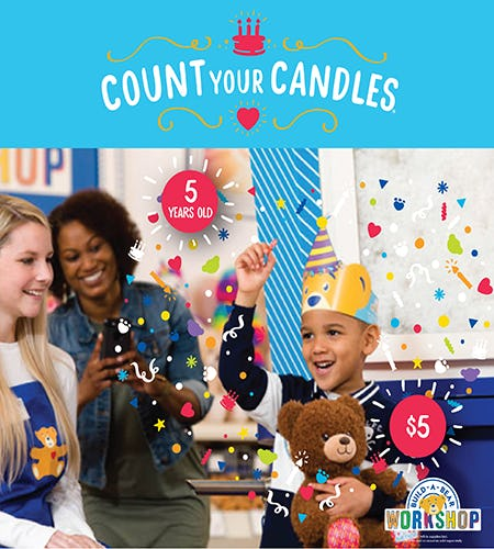 CeleBEARate Their Birthday at Build-A-Bear Workshop!®