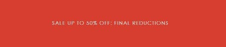 Sale up to 50% Off from Ted Baker London