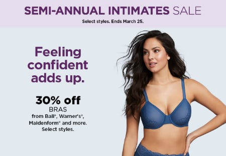29a4cd892e9e 30% Off Semi-Annual Intimates Sale at Kohl's | Boise Towne Square