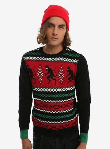 Krampus Fair Isle Sweater