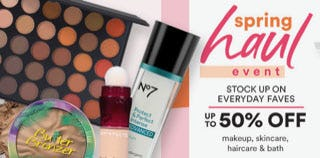 Spring Haul Event from ULTA BEAUTY