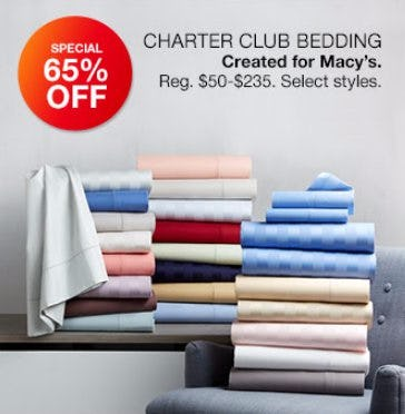 65% Off Charter Club Bedding