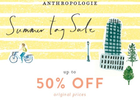 Summer Tag Sale from Anthropologie