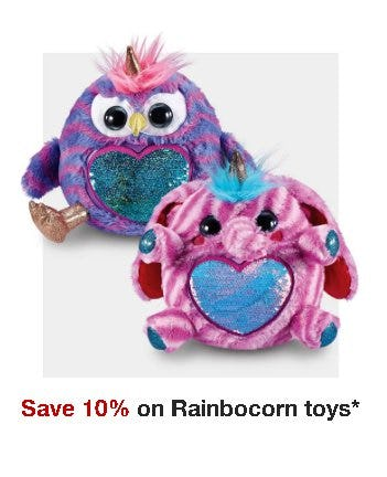 Save 10% on Rainbocorn Toys