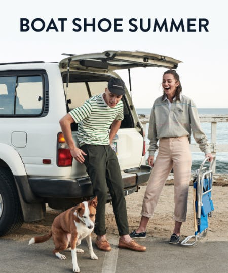 The Boat Shoe Summer from Sperry Top-Sider