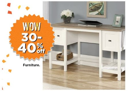 30–40% Off Furniture from Kohl's
