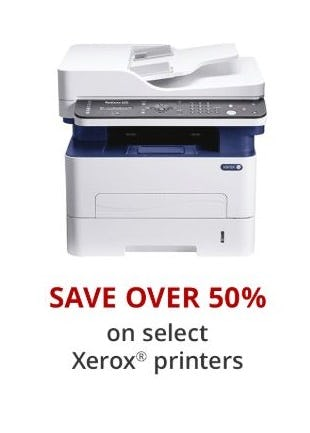 Over 50% Off Select Xerox Printers from Office Depot