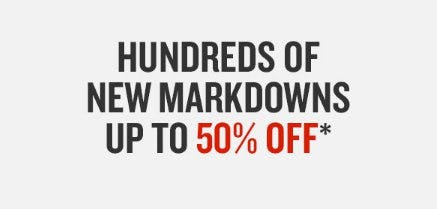 Hundreds of New Markdowns up to 50% Off from Finish Line