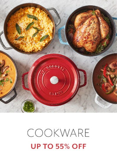 Cookware Up to 55% Off from Sur La Table