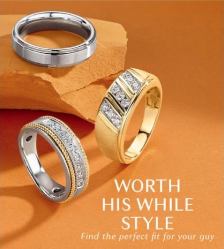 Right Band for the Right Guy from Littman Jewelers