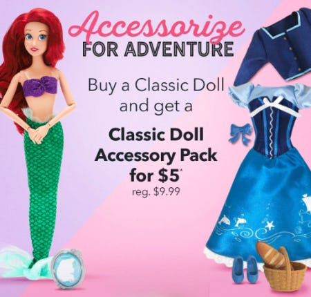 Classic Doll Accessory Pack for $5