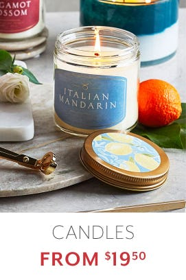Candles From $19.50 from Sur La Table
