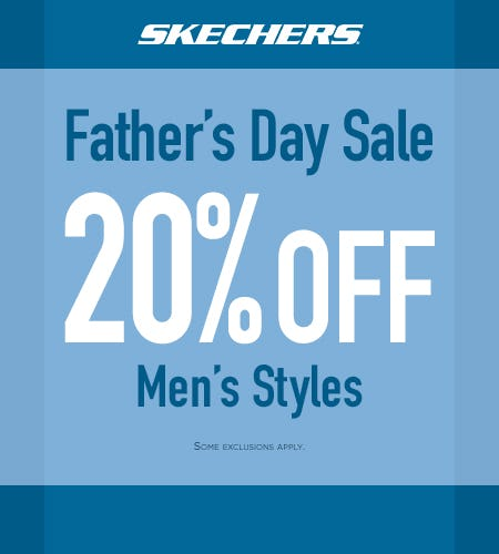 SHOP SKECHERS FATHER'S DAY SALE! from Skechers