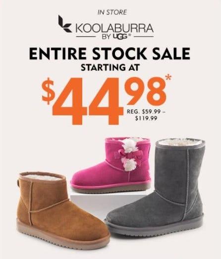 Koolaburra Sale from Shoe Carnival