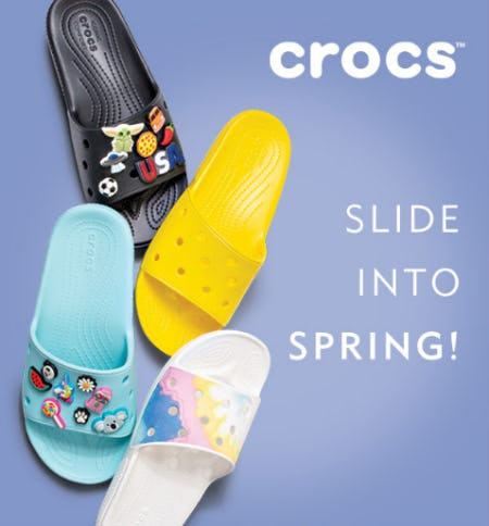 Crocs for Spring from Shoe Carnival