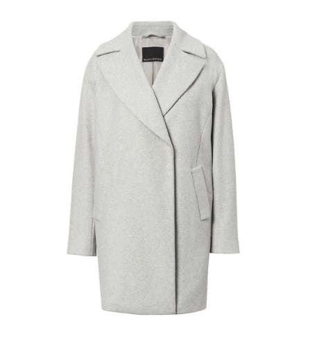 Italian Melton Wool-Blend Car Coat