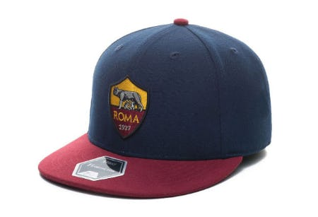 AS Roma Fan Ink Club Team Fi Fitted Cap from Lids