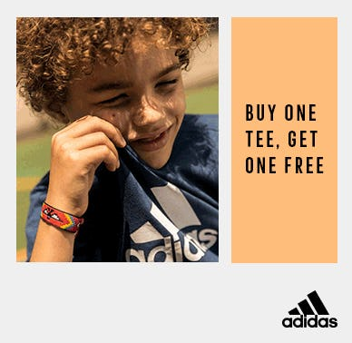 Buy one tee, get one free from Adidas