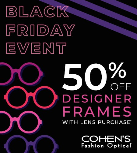 Black Friday Event! from Cohen's Fashion Optical