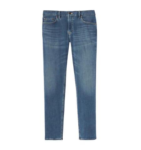 Athletic Tapered Rapid Movement Denim Light Wash Jean