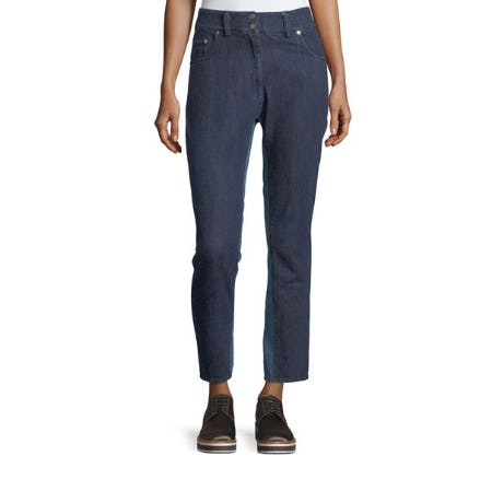Public School Ray High-Rise Skinny Denim Pants from Neiman Marcus