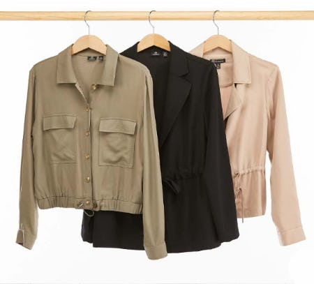 New Spring Jackets from Versona