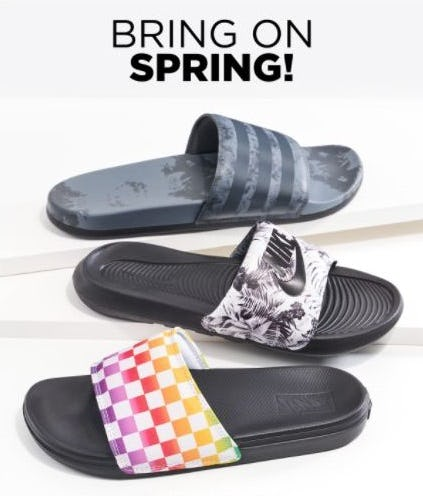 Brand-New Slides for Spring from Rack Room Shoes