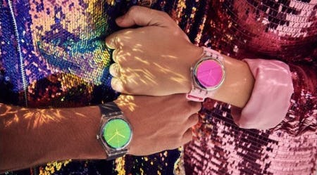 Bold Watches in Full Color from Swatch