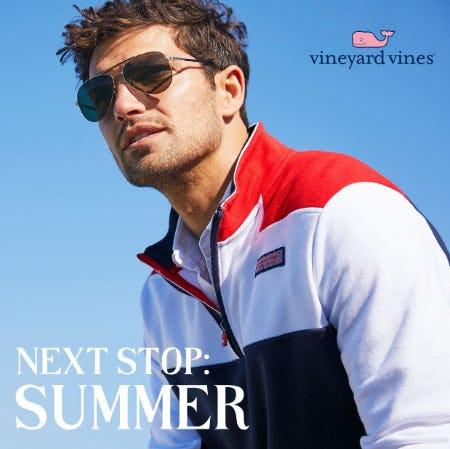 Next Stop: Summer from Vineyard Vines