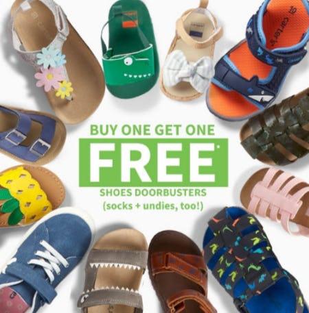 BOGO Free Shoes Doorbusters