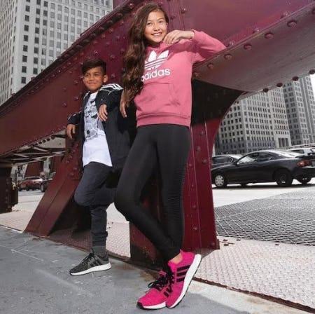adidas Swift Run Athletic Shoe from Journeys Kidz