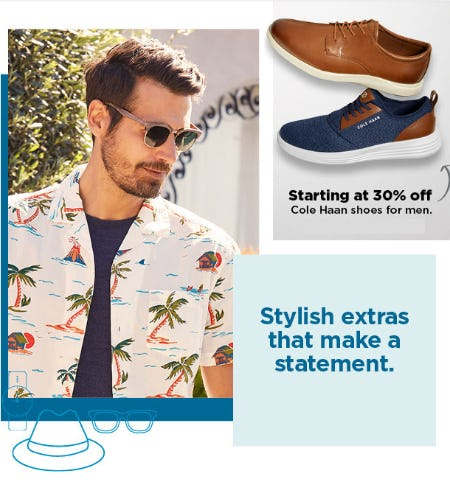 Cole Haan Shoes for Men Starting at 30% Off