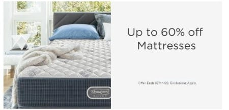 Up to 60% Off Mattresses from Sears