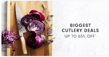 Up to 65% Off Cutlery Deals from Williams-Sonoma